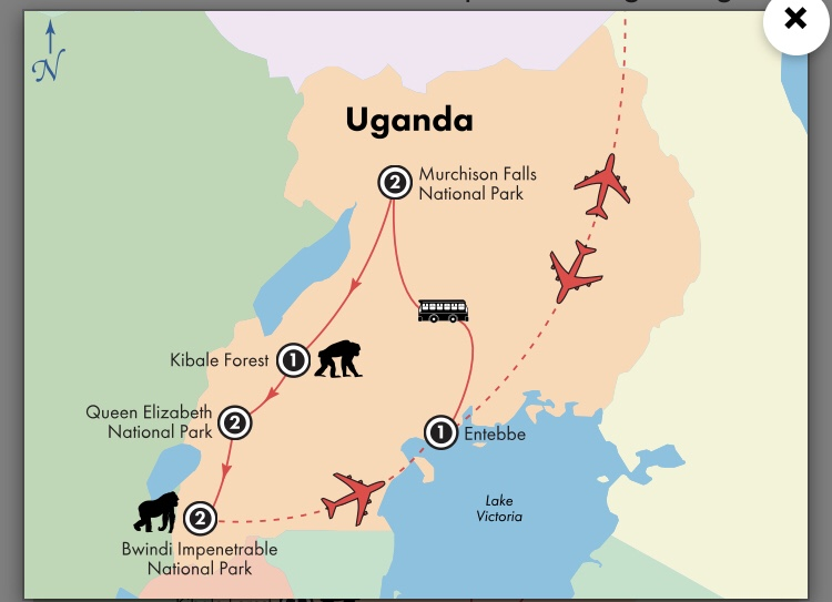 Heading to Uganda